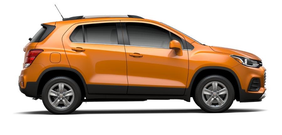 valle de Chevy - 2017 Trax LT en Orange