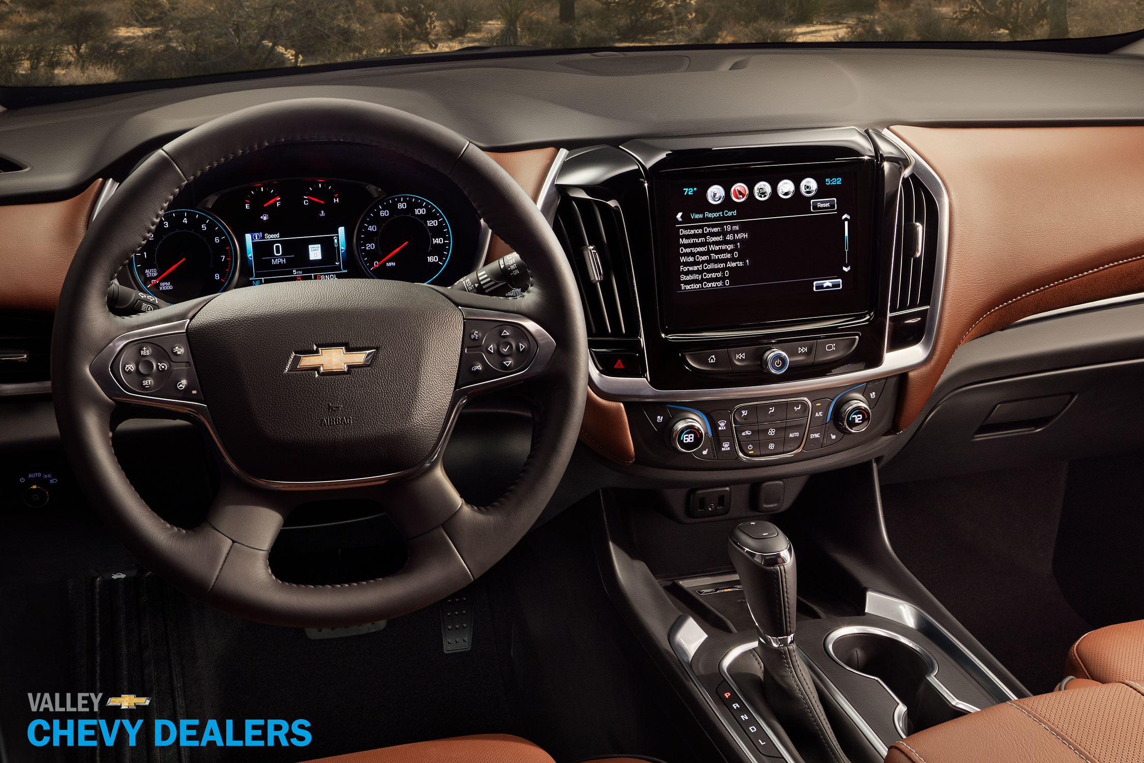 Valley Chevy - 2017 Chevrolet Traverse: Driver's Console