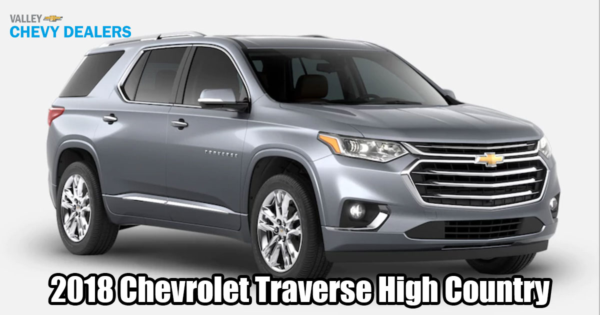 2018 chevrolet traverse high country specs. Black Bedroom Furniture Sets. Home Design Ideas