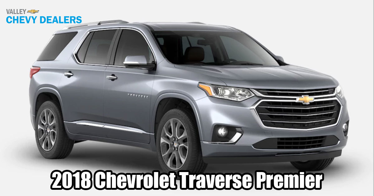 VIDEO 2018 Chevrolet Traverse Pictures Amp Available Trims