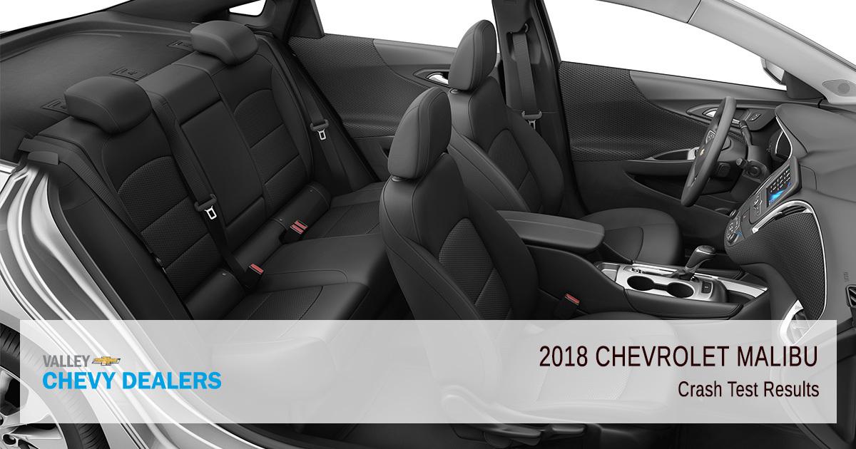 Valley Chevy in Phoenix - 2018 Chevrolet Malibu Crash Test Results