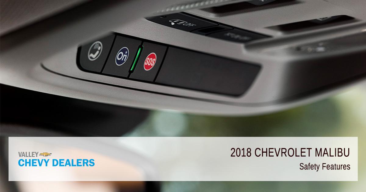 Valley Chevy in Phoenix - 2018 Chevrolet Malibu Safety Features Interior