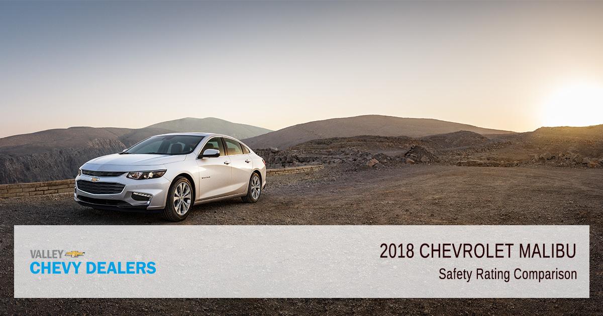 Valley Chevy in Phoenix - 2018 Chevrolet Malibu Safety Rating