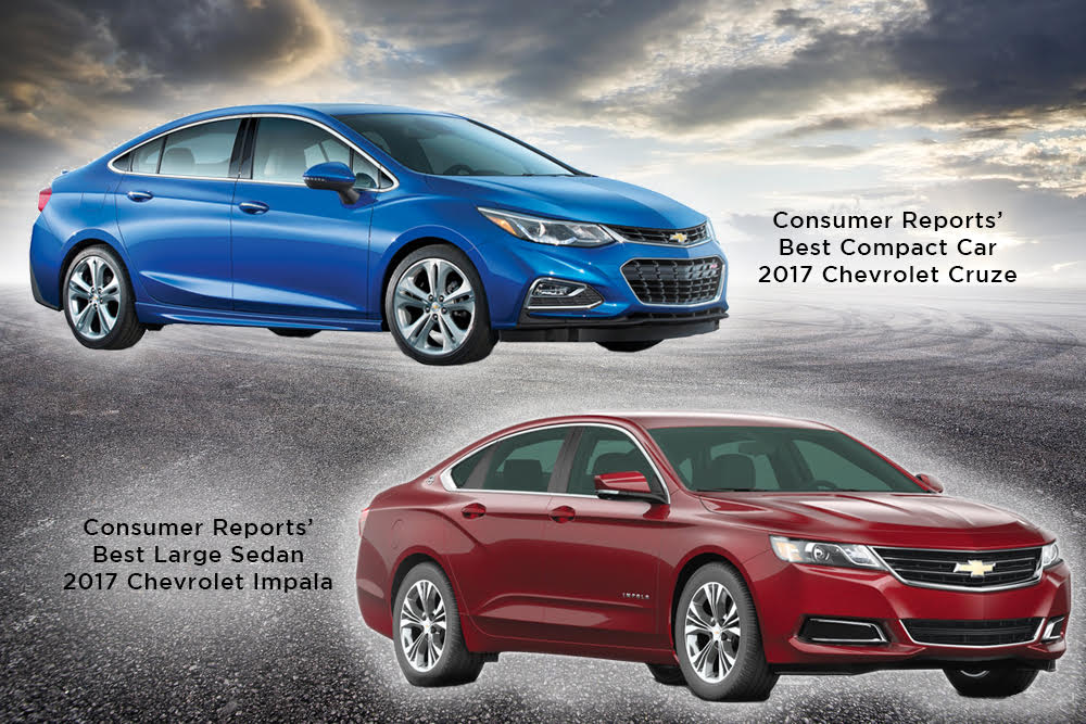 Cruze, Impala named top 10 consumer reports picks for 2017 ...