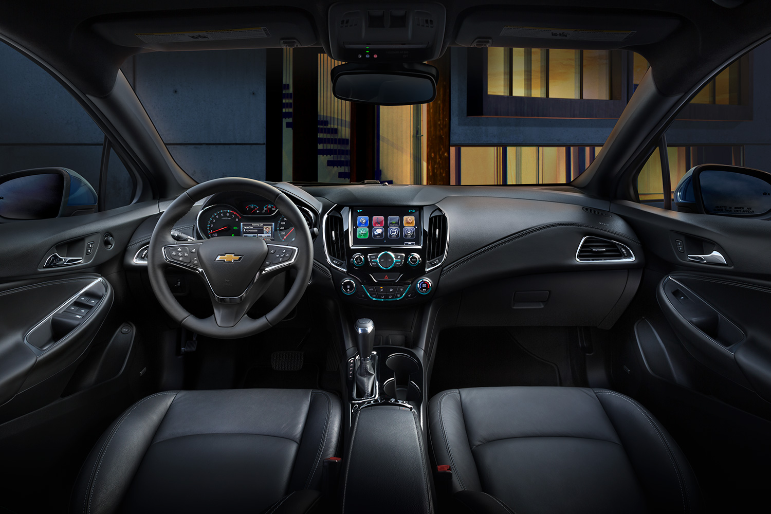 Valley Chevrolet - Chevy Cruze Diesel for Road Trips - Front Interior