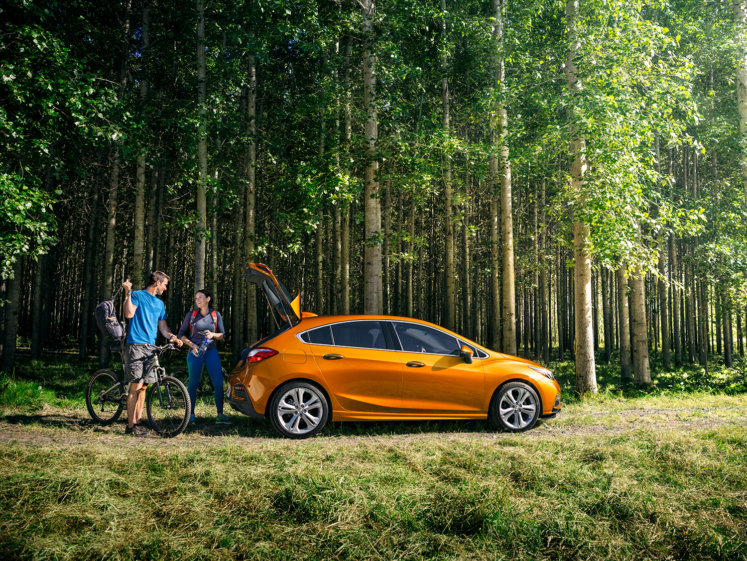 Valley Chevrolet - Chevy Cruze Diesel for Road Trips - Wilderness
