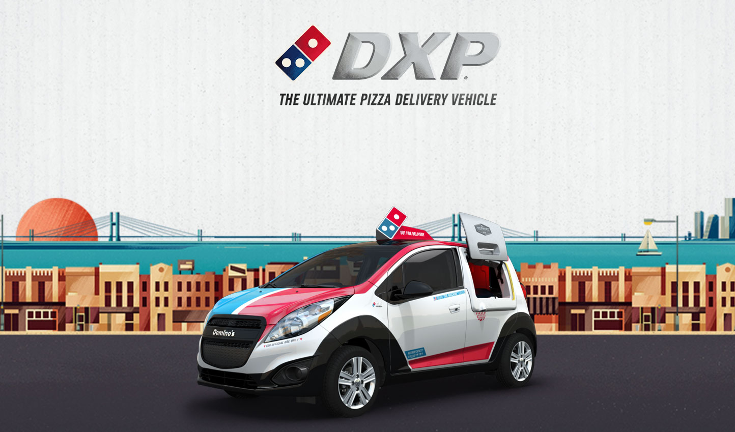 Valley Chevy - Domino's Ferris Bueller's Day Off DXP Chevrolet Sonic Car