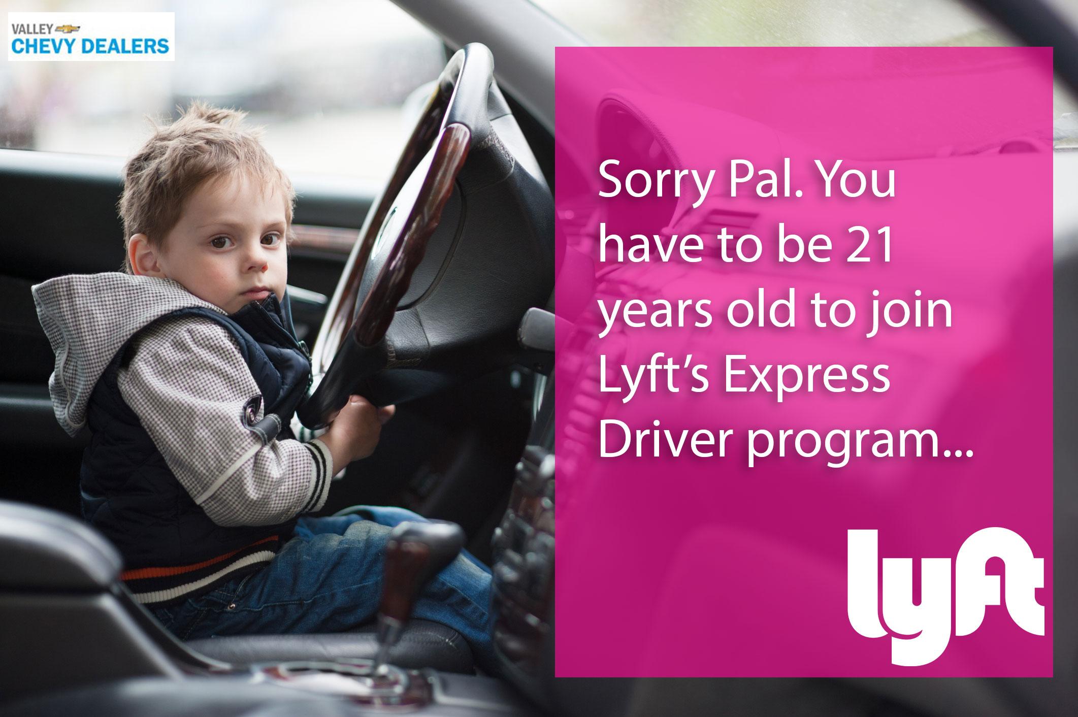 Valley Chevrolet - Lyft Express Driver Program: Apply