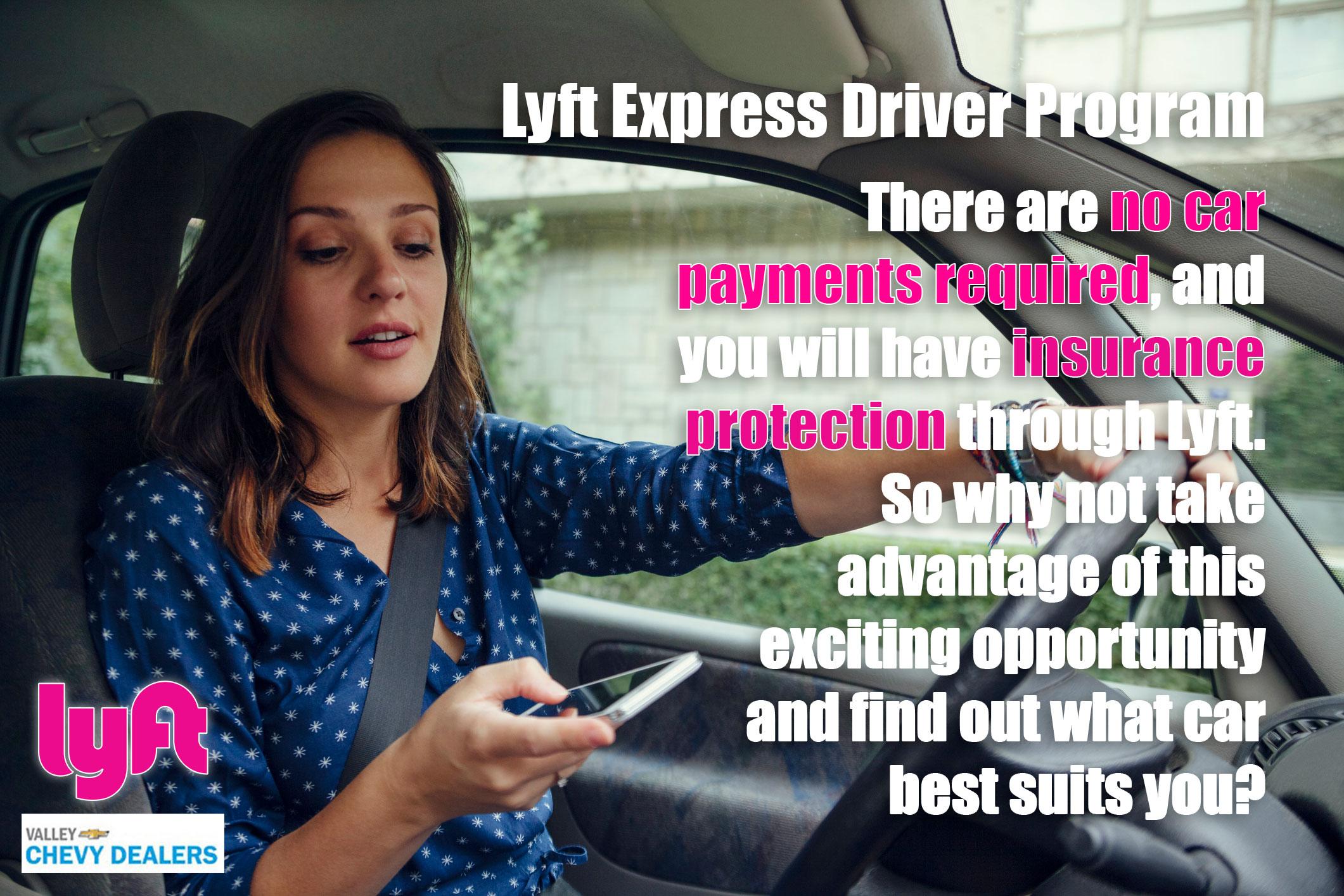 Valley Chevrolet - Lyft Express Driver Program: Test Drive