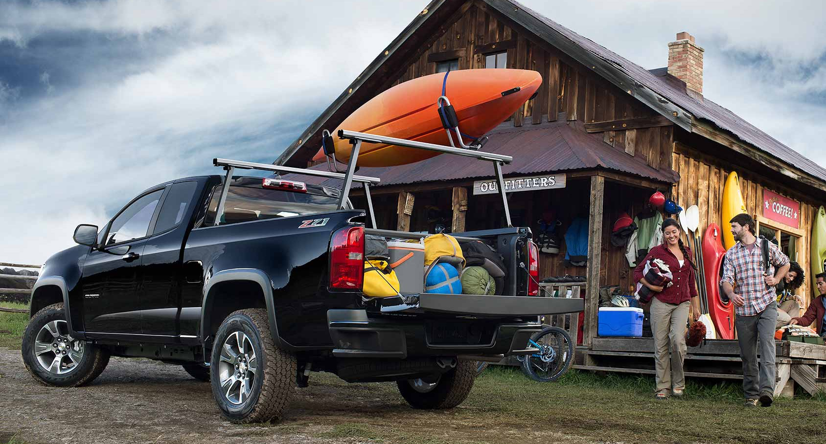 Valley Chevy - Man Buying New Chevrolet Vehicle: Colorado Outting
