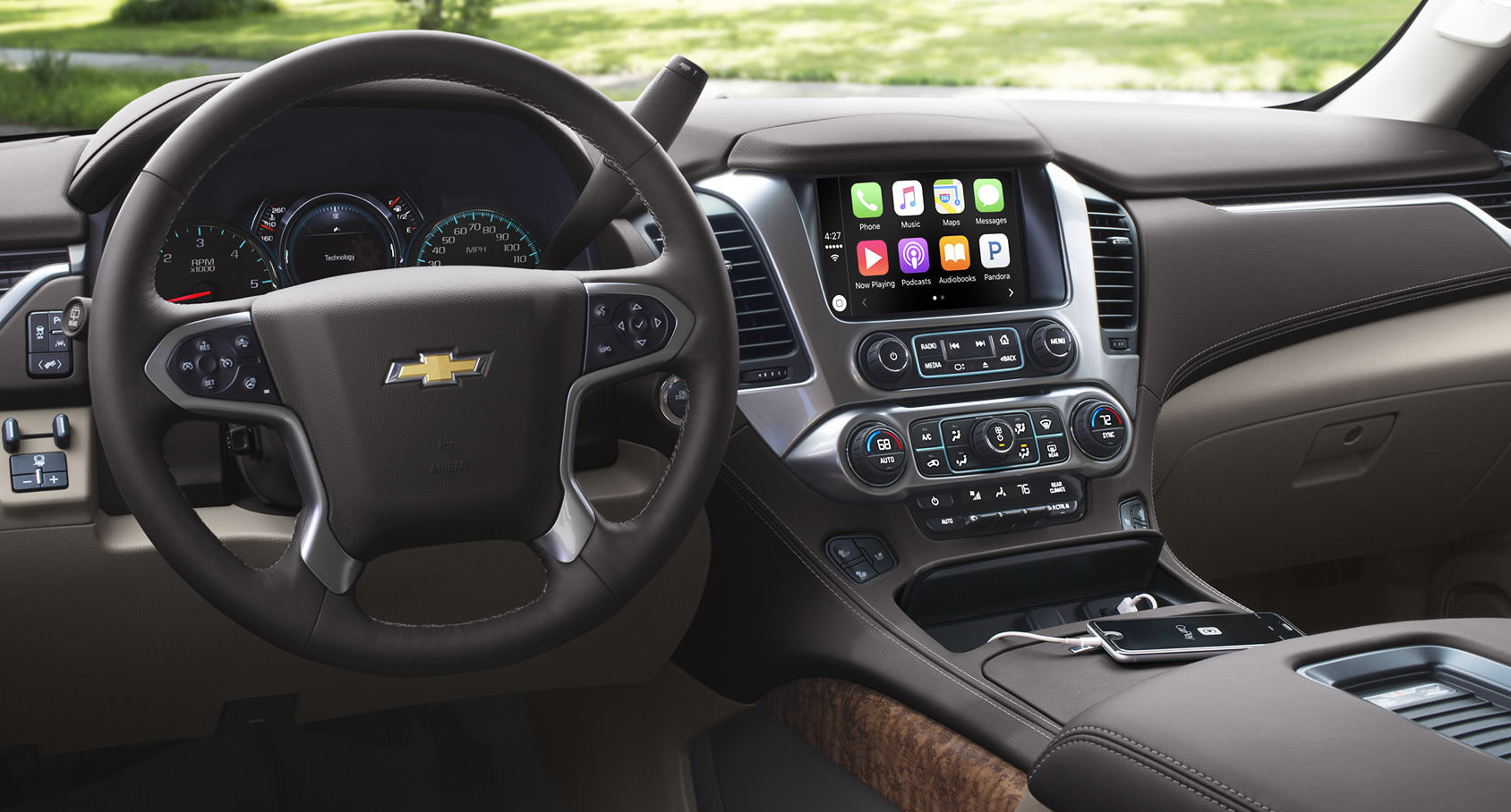 Valley Chevy - Man Buying New Chevrolet Vehicle: Interior