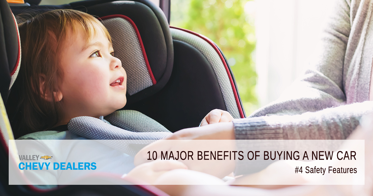 Valley Chevy - 10 Reasons & Benefits to Buy a New Car Over Used Car: Safety