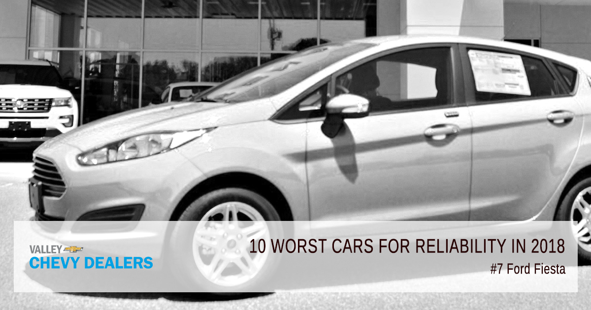 Valley Chevy in Phoenix - 10 Worst Cars for Reliability in 2018: Ford Focus