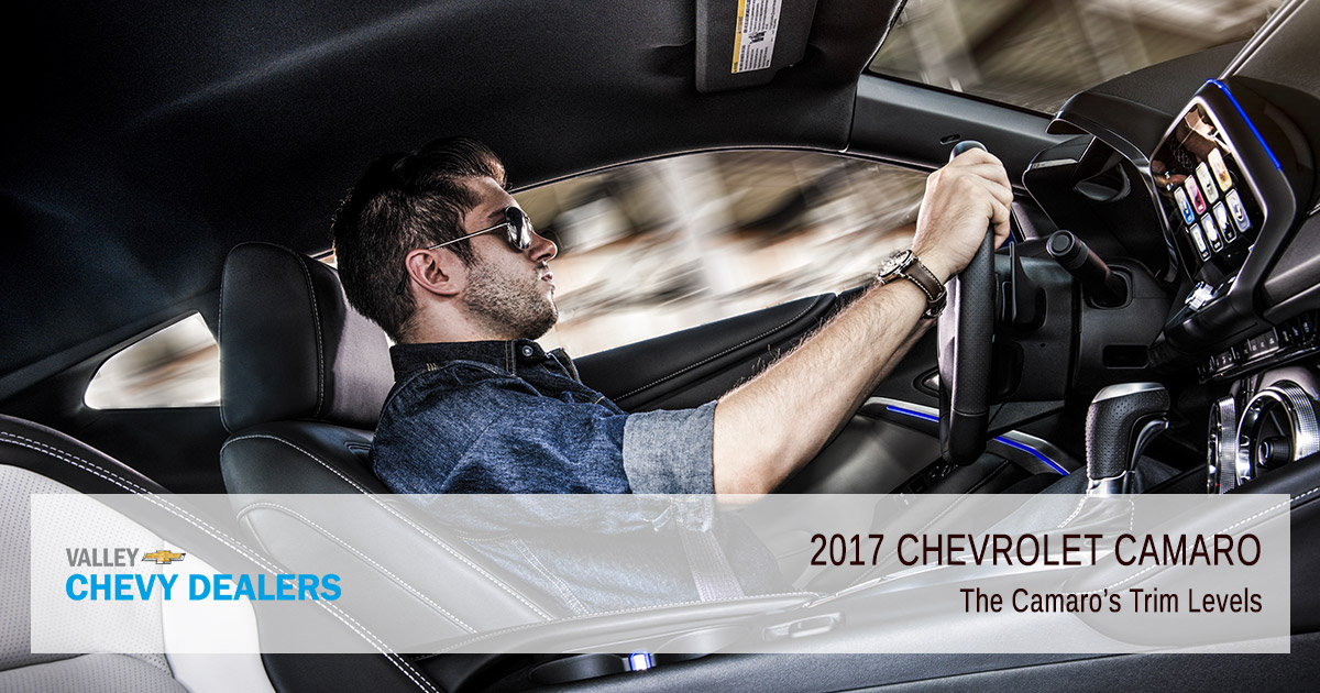 Valley Chevy in Phoenix - 2017 Camaro Trim Levels