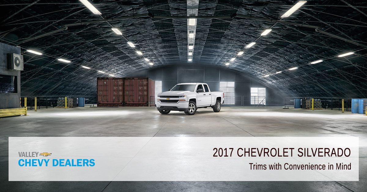 Valley Chevy - Phoenix - 2017 Silverado Trim & Body Power