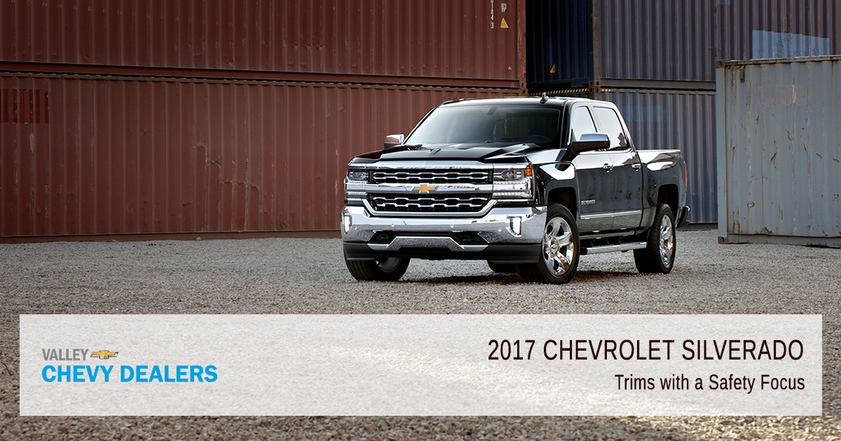 Valley Chevy - Phoenix - 2017 Silverado Trim & Body Safety