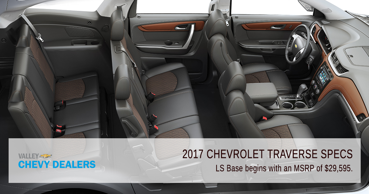 Chevy Traverse Towing Capacity >> 2017 Chevrolet Traverse Especificaciones Blow la ...