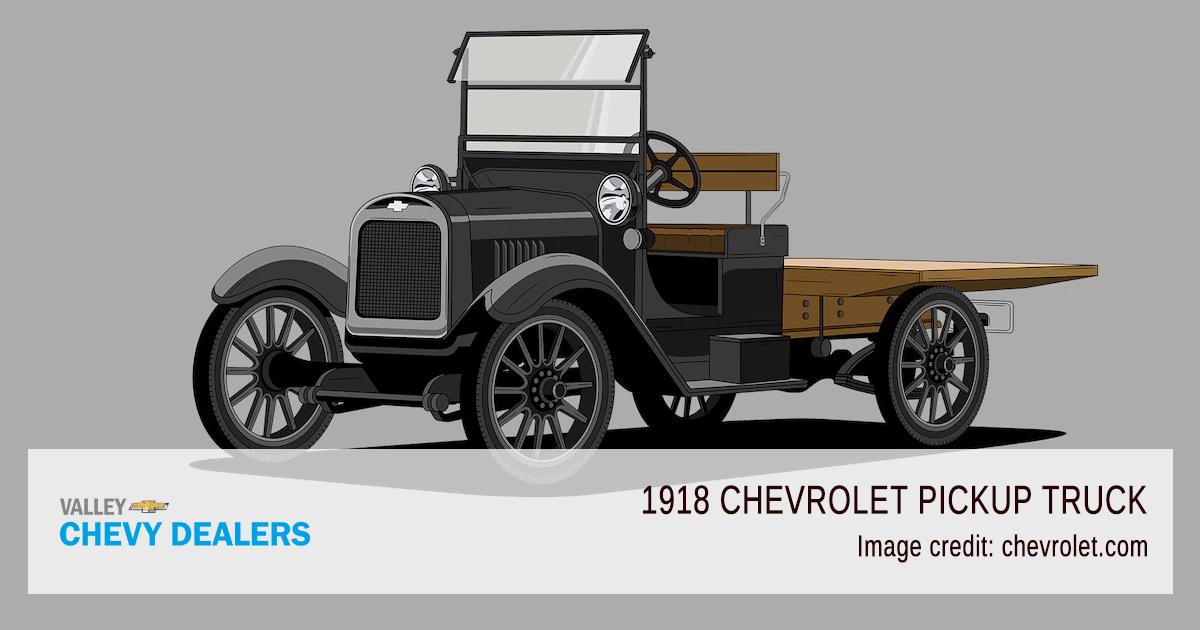 Valley Chevy - 2018 Centennial 100 Years Pickup Trucks - 1918 Model