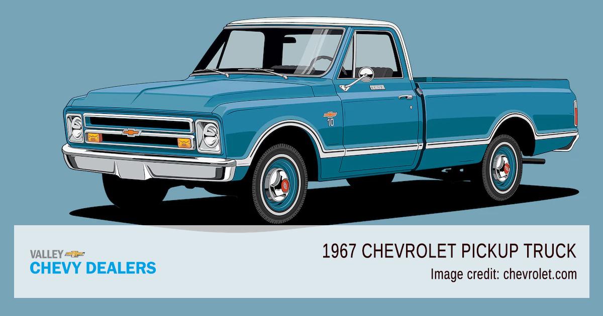 Valley Chevy - 2018 Centennial 100 Years Pickup Trucks - 1967 Model