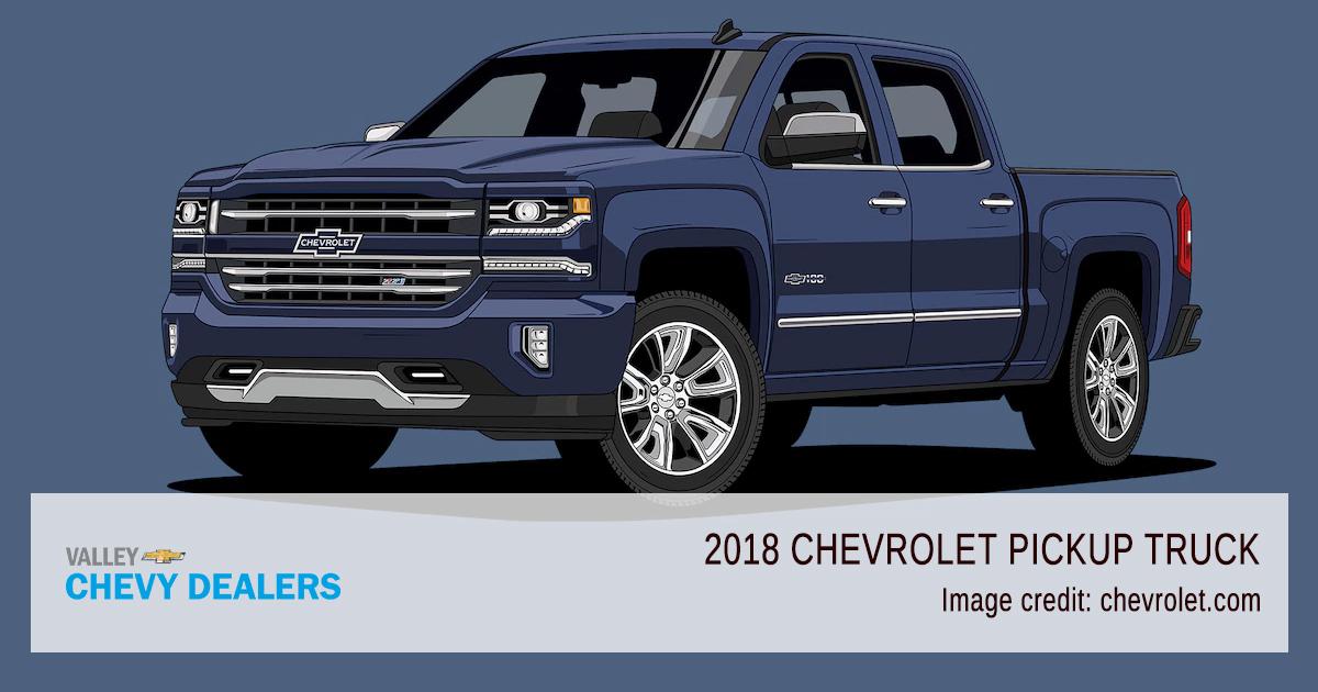 Valley Chevy - 2018 Centennial 100 Years Pickup Trucks - 2018 Model