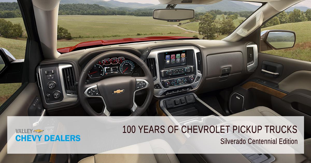 Valley Chevy - 2018 Centennial 100 Years Pickup Trucks - Silverado