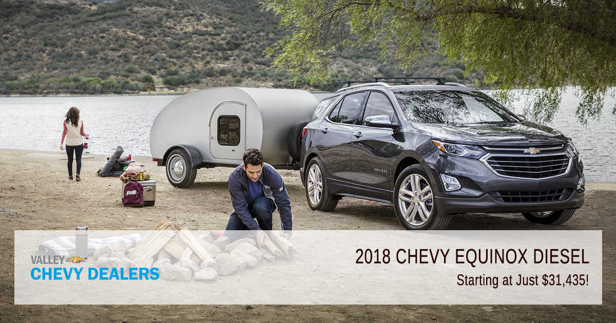 Valley Chevrolet Phoenix - 2018 Chevy Equinox Diesel From Low $30k - Featured