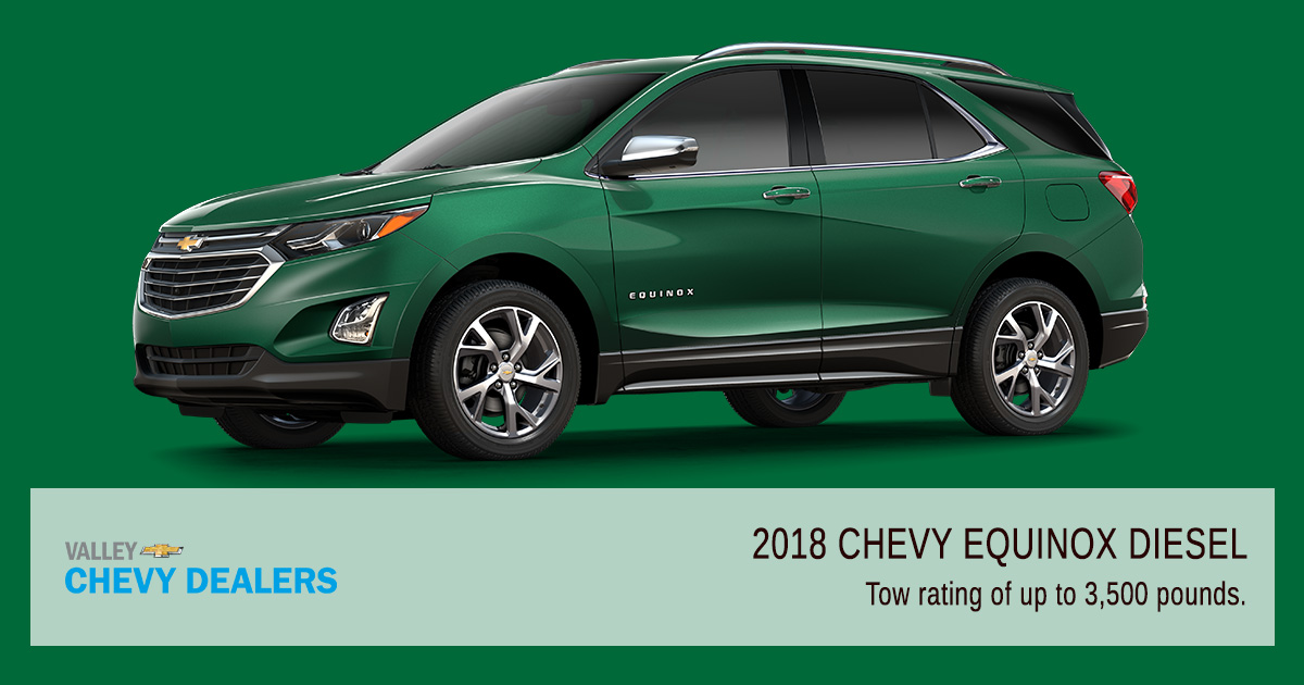 Valley Chevrolet Phoenix - 2018 Chevy Equinox Diesel From Low $30k - Takeaways