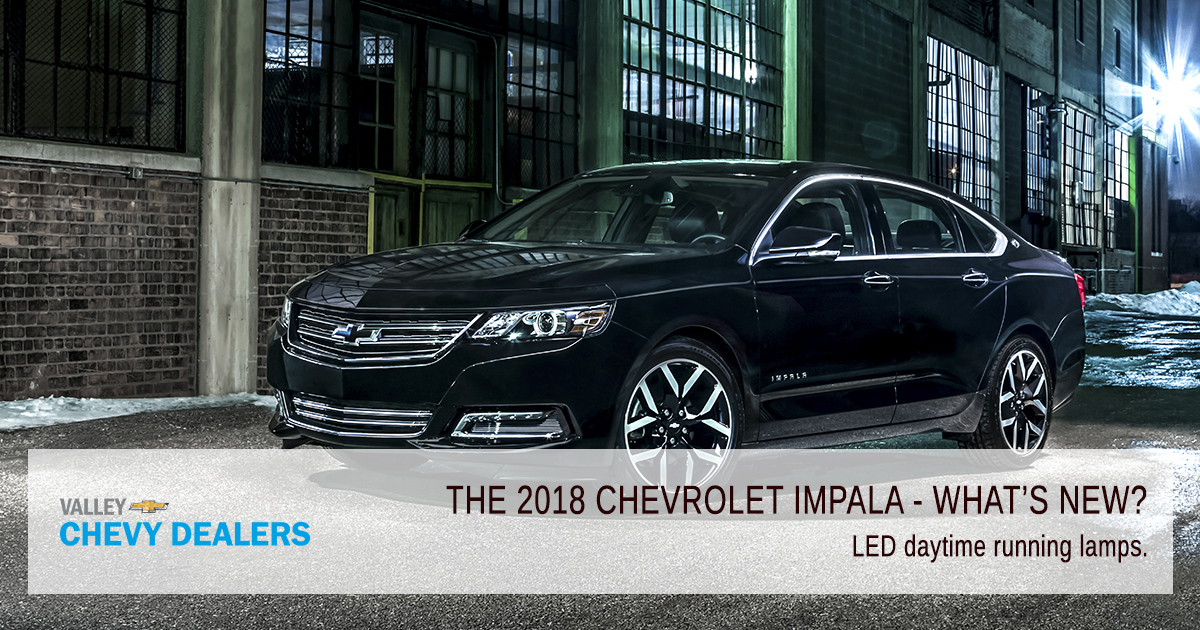 Valley Chevy PHX - 2018 Chevrolet Impala What's New? - LED Lights