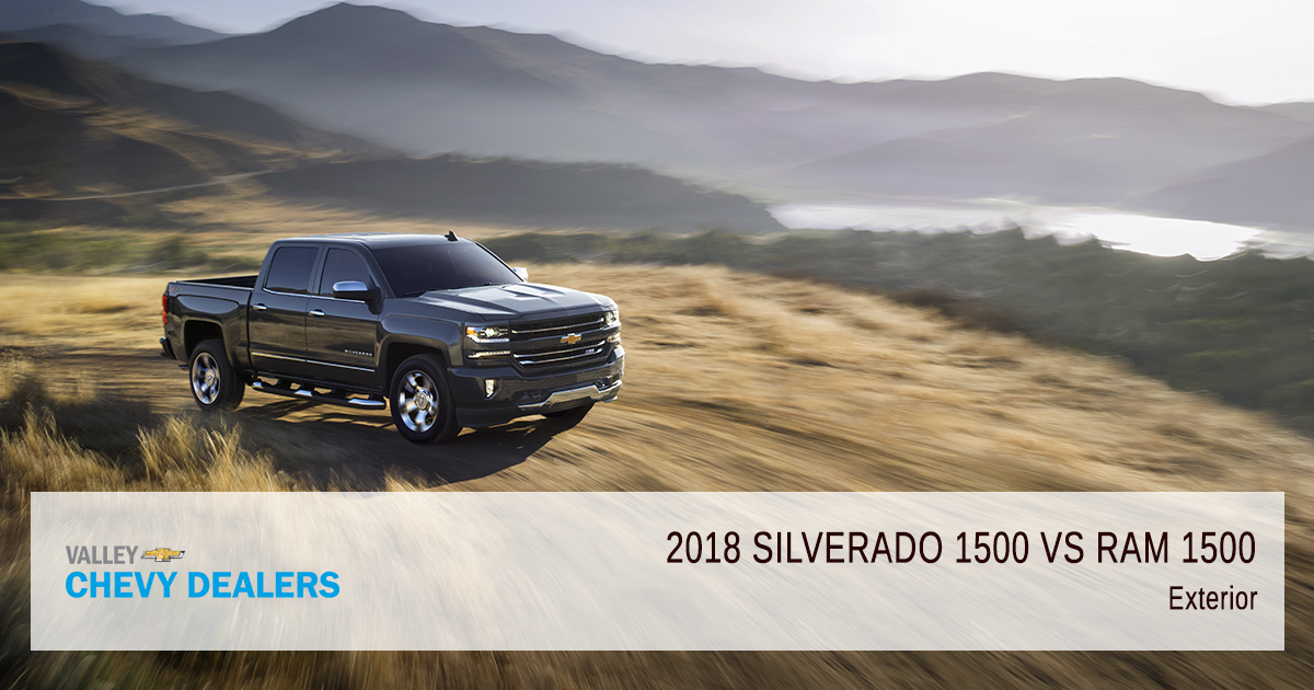 do i want a 2018 silverado 1500 or ram 1500 valley chevy. Black Bedroom Furniture Sets. Home Design Ideas