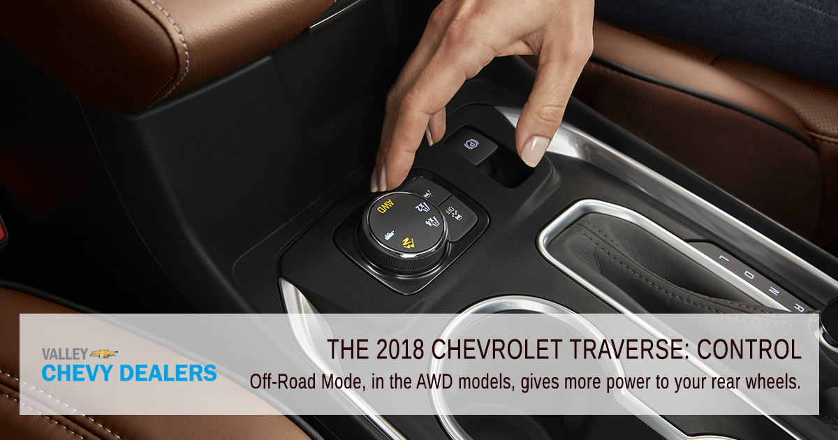 Valley Chevy Phoenix - 2018 Chevrolet Traverse: Find Out What's New - Control