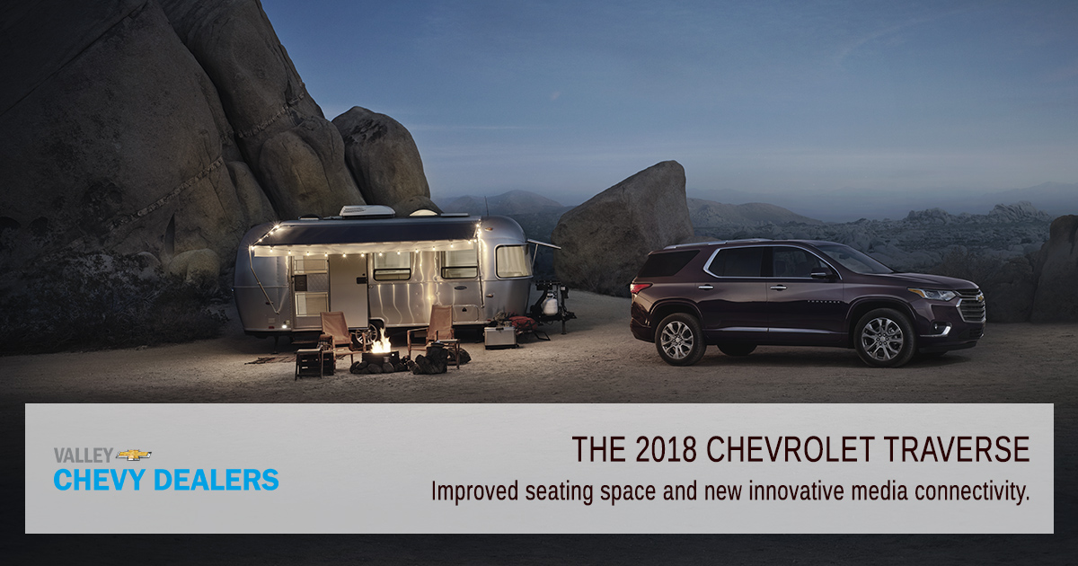 Valley Chevy Phoenix - 2018 Chevrolet Traverse: Find Out What's New