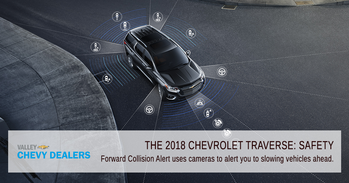 Valley Chevy Phoenix - 2018 Chevrolet Traverse: Find Out What's New - Safety