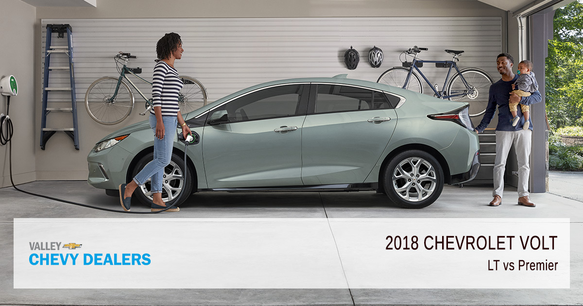 Valley Chevy 2018 Chevrolet Volt Lt Vs Premier Trims
