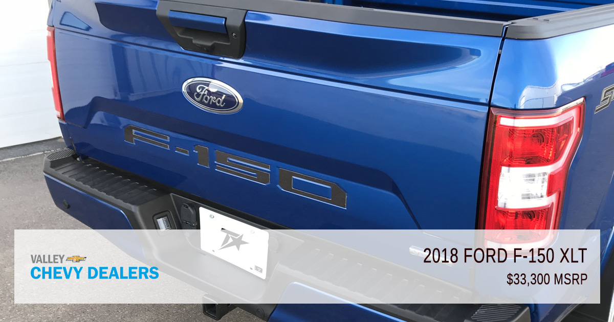 2018 ford f 150 xl vs xlt which truck do i want valley chevy. Black Bedroom Furniture Sets. Home Design Ideas