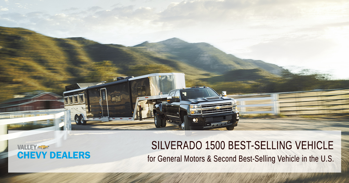 Valley Chevy - 2019 Silverado 1500 Revamped - Best Selling Vehicle
