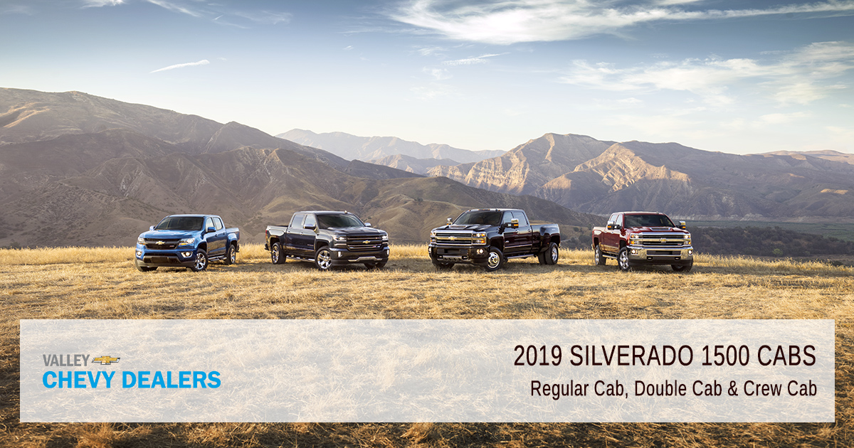 Valley Chevy - 2019 Silverado 1500 Revamped - Cab Options