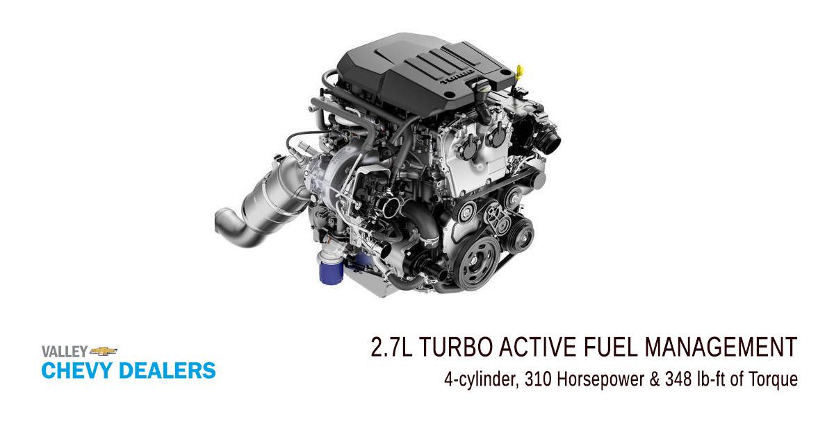 Valley Chevy - 4-cylinder RST Silverado 2019: Engine