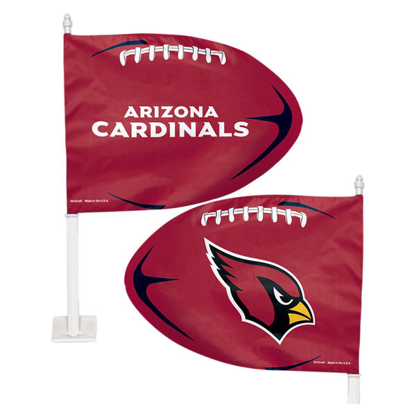Valley Chevy - 5 AZ Cardinal Car Accessories - Window Flags