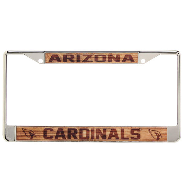 Valley Chevy - 5 AZ Cardinal Car Accessories - License Plate Cover