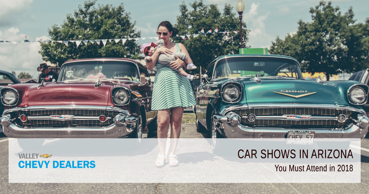 Best Arizona Car Shows to Check Out in 2018 | Valley Chevy