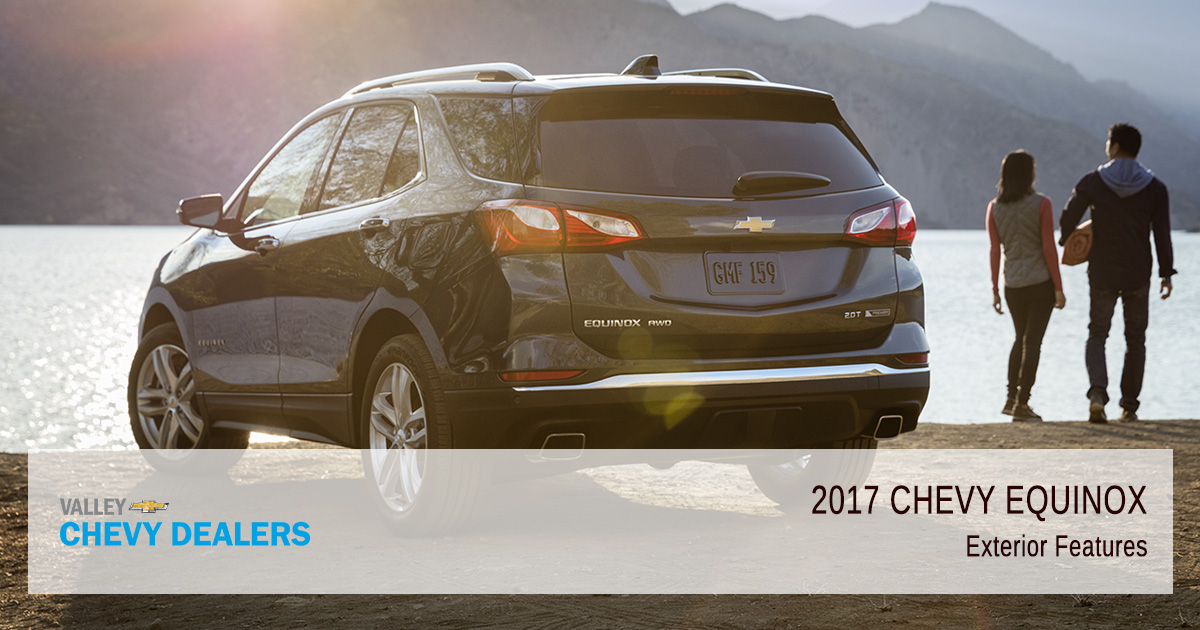 Valley Chevy Phoenix - 2017 Chevrolet Equinox Exterior Features