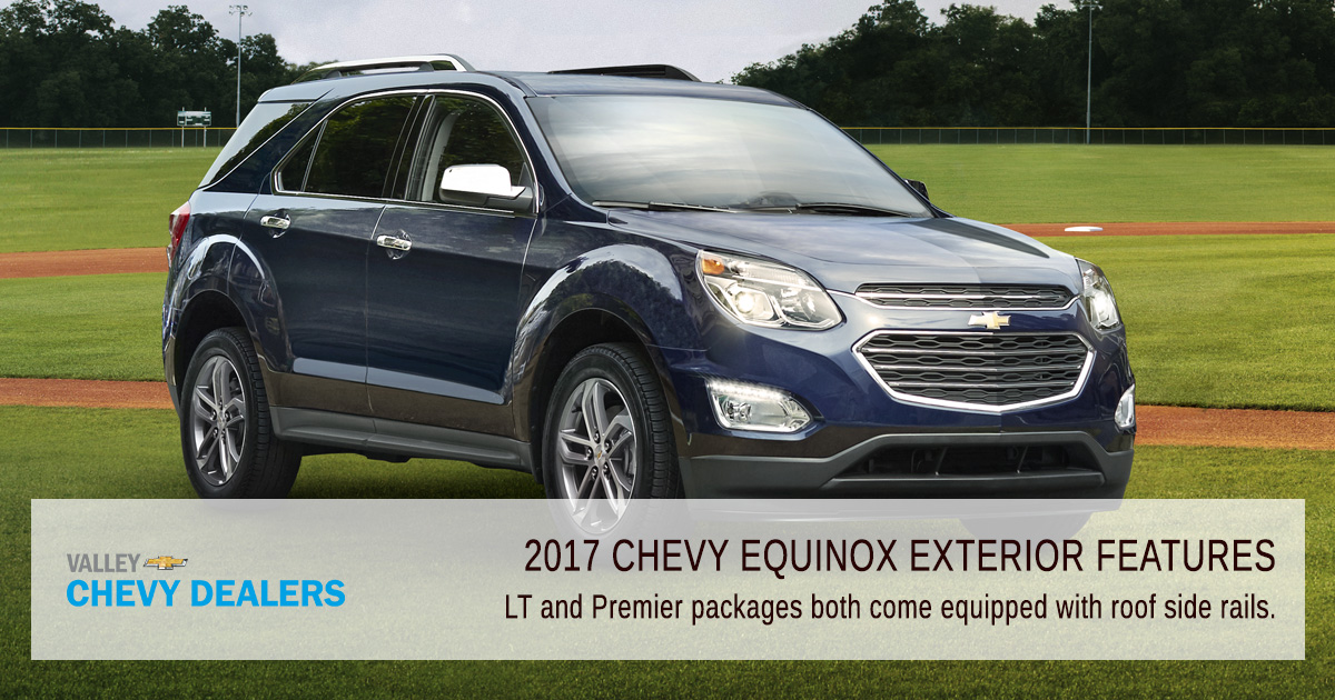Valley Chevy Phoenix - 2017 Chevrolet Equinox Exterior Features: Roof Rails