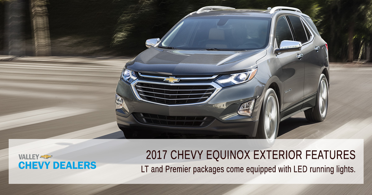 Valley Chevy Phoenix - 2017 Chevrolet Equinox Exterior Features: Lighting