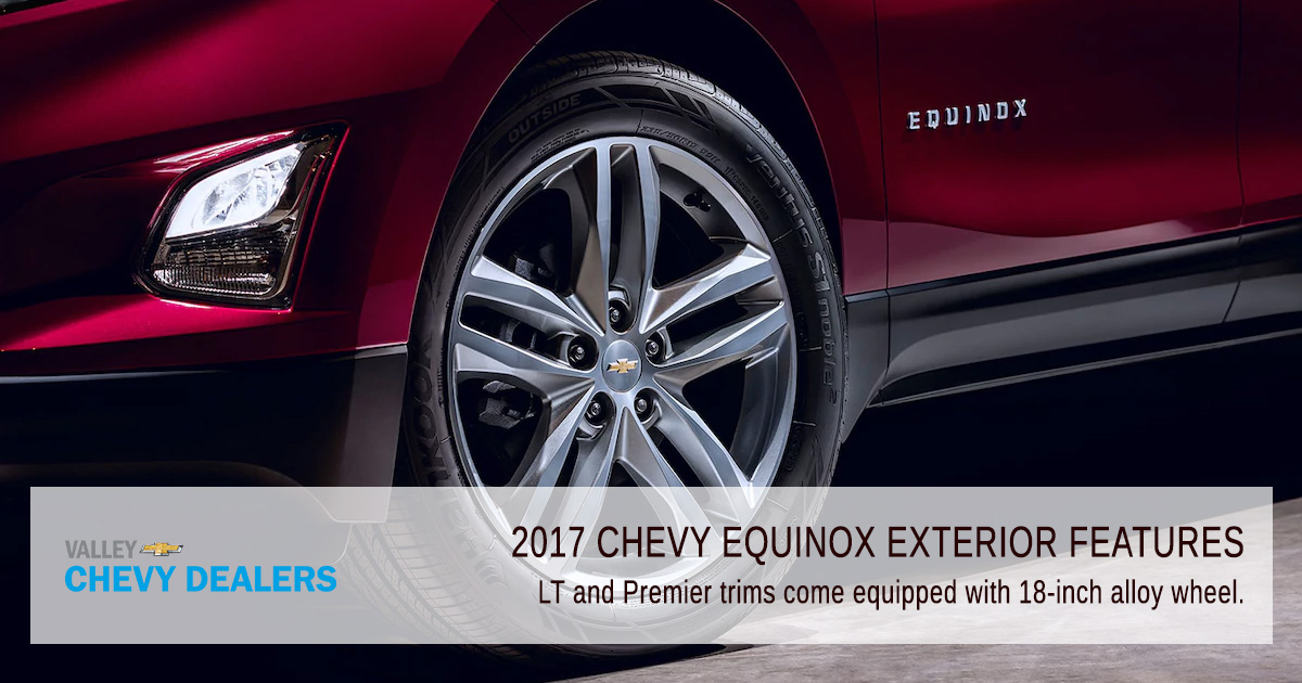 Valley Chevy Phoenix - 2017 Chevrolet Equinox Exterior Features: Wheels
