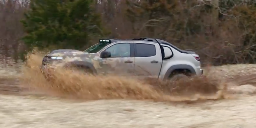 Valley Chevy Phoenix: Chevrolet Colorado ZH2 Army Picup Truck in Action