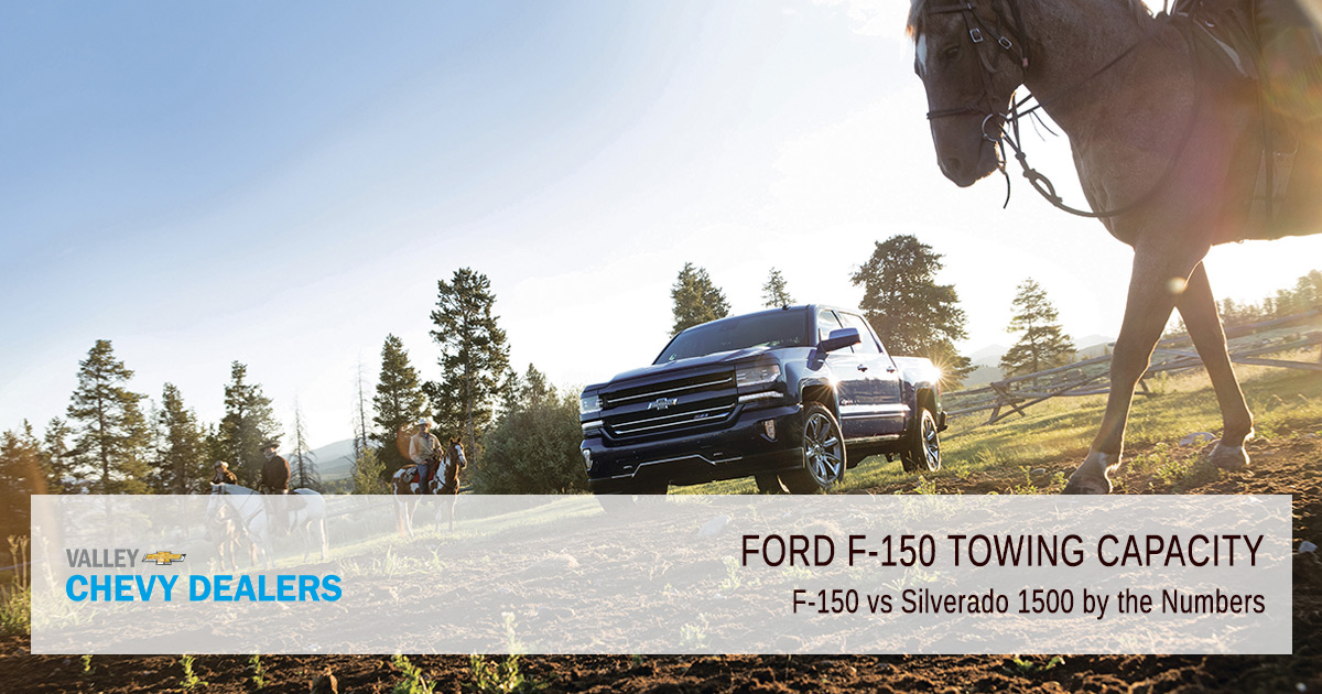 Valley Chevy - Ford F-150 Towing Capacity - By the Numbers