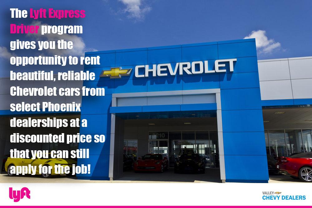 Valley Chevrolet - Lyft Express Driver Program: No Car No Problem