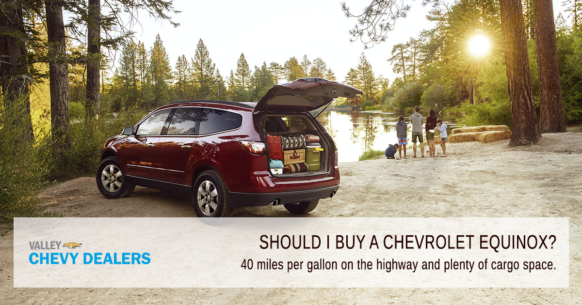 Valley Chevy - Pickup or SUV, What Should I Buy? - Equinox
