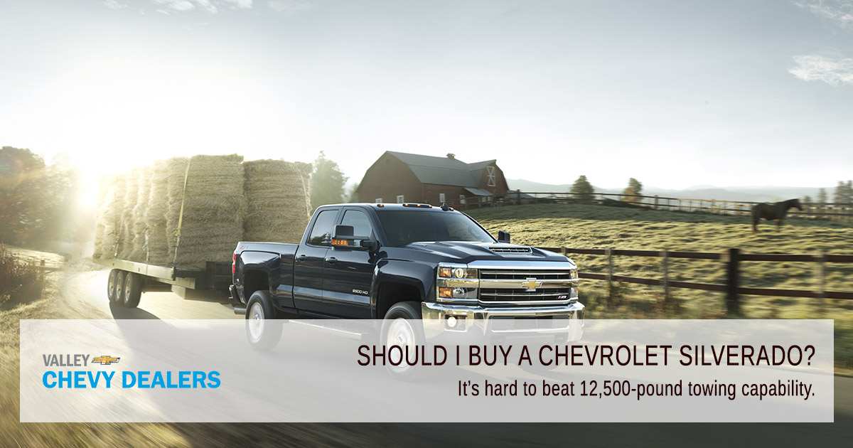 Valley Chevy - Pickup or SUV, What Should I Buy? - Silverado