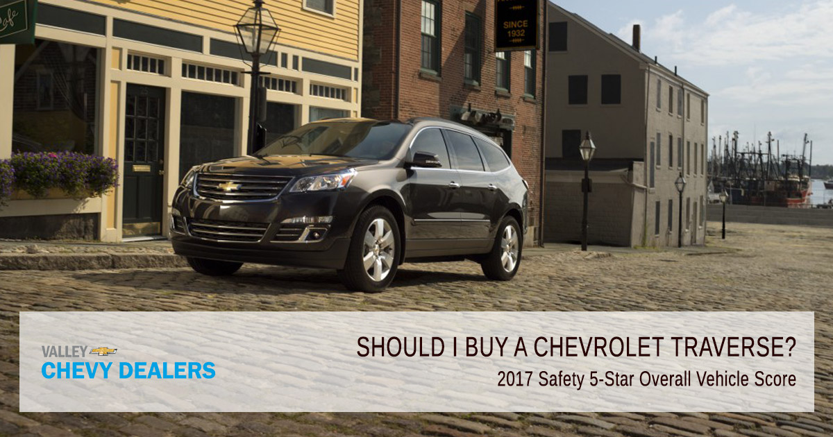 Valley Chevy - Pickup or SUV, What Should I Buy? - Traverse